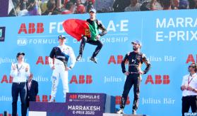 البرتغالي أنطونيو فليكس داكوسطا يفوز بسباق (الفورمولا إي) للسيارات الكهربائية بمراكش