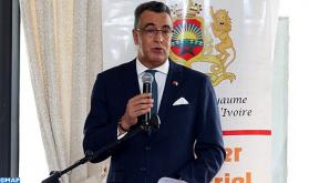 سفارة المغرب بأبيدجان تجمع في جلسة عمل رؤساء المقاولات المغربية العاملة بكوت ديفوار