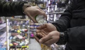 """برشيد.. ضبط محل تجاري يبيع """"محلولا كحوليا مائيا"""" على أساس أنه مادة معقمة"""