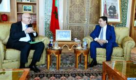 السيد بوريطة يتباحث بالرباط مع نائب الأمين العام لمكتب الأمم المتحدة لمكافحة الإرهاب