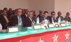 مهرجان خطابي تخليدا للذكرى ال62 للزيارة التاريخية لجلالة المغفور له محمد الخامس لمحاميد الغزلان