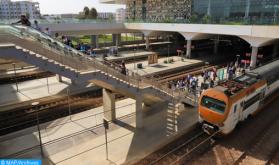 المكتب الوطني للسكك الحديدية ينفي صحة أخبار وصور بشأن خروج قطار عن السكة بين فاس ووجدة