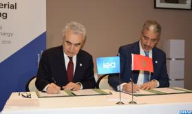 المغرب و الوكالة الدولية للطاقة يوقعان بباريس برنامج عمل مشترك للفترة 2021-2020