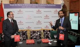 الخطوط الملكية المغربية والخطوط الجوية الامريكية يؤكدان على أهمية استراتيجية اتفاقية تبادل الرموز فيما بينهما