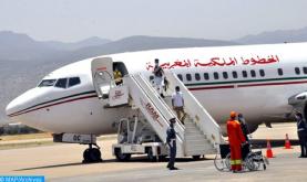 حوالي 20 مغربيا عالقين بنيجيريا يعودون إلى أرض الوطن على متن الخطوط الملكية المغربية