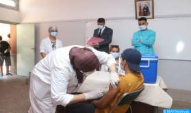 جهة الدار البيضاء - سطات .. تلقيح التلاميذ ما بين 12 و17 سنة من أجل مدرسة آمنة وسليمة