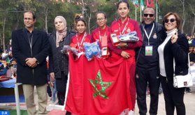 المنتخب الوطني للعدو الريفي المدرسي يفوز بالدورة 39 للبطولة المغاربية