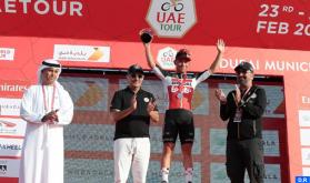 طواف الإمارات: الدراج الأسترالي ايوان كاليب يفوز بالمرحلة الثانية