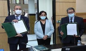 تحيين اتفاقية شراكة بين جامعة القاضي عياض بمراكش والمجلس الوطني لحقوق الإنسان