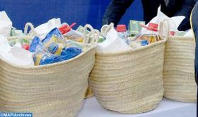 حملة تضامن كوفيد-19 لبنك التغذية .. توزيع أكثر من 10 ملايين درهم من المواد الغذائية