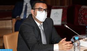 """مجلس المستشارين.. السيد أمكراز يسلط الضوء على مشروع المرسوم بقانون 2.20.605 الهادف إلى مواكبة القطاعات المتضررة من تداعيات """"كوفيد-19"""""""