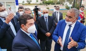 السيد سعيد أمزازي يستطلع إجراءات الدخول المدرسي الجديد في أكادير