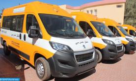 تنمية بشرية.. توزيع 35 حافلة جديدة للنقل المدرسي على الجماعات الترابية بإقليم الحسيمة