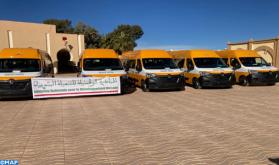 المبادرة الوطنية للتنمية البشرية .. توزيع حافلات للنقل المدرسي على جماعات ترابية بالرشيدية