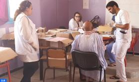 استفادة حوالي 120 شخصا من قافلة طبية متعددة التخصصات في إقليم أوسرد