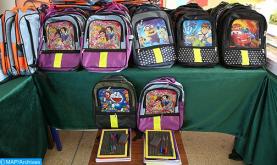 المجلس العلمي المحلي لإقليم شيشاوة ينظم عملية لتوزيع محافظ مدرسية على أسر معوزة بمناسبة الدخول المدرسي 2021 - 2022