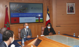 بحث سبل تعزيز التعاون الاقتصادي بين المغرب وجمهورية إفريقيا الوسطى