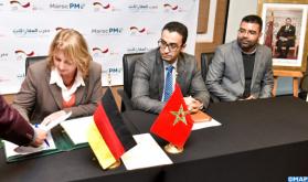 الوكالة الوطنية لإنعاش المقاولات الصغرى والمتوسطة والمؤسسة الألمانية للتعاون الدولي: توقيع اتفاقيات