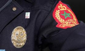 فاس: عناصر الشرطة تضطر لإشهار أسلحتها دون اللجوء لاستعمالها لتوقيف شخص عرض حياتها لتهديد خطير