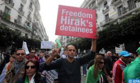 الجزائر.. استمرار اعتقال وإدانة نشطاء حقوق الإنسان (وكالة الأنباء الإسبانية)