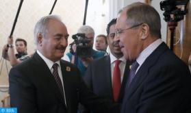 خليفة حفتر يغادر موسكو دون التوقيع على اتفاق وقف إطلاق النار بين الأطراف الليبية