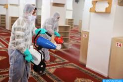 بني ملال : تنظيم عملية تعقيم لجميع المساجد التي ستقام بها صلاة الجمعة