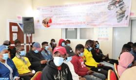 طانطان ..يوم تحسيسي لفائدة مهاجرين منحدرين من افريقيا جنوب الصحراء حول حملة التلقيح الوطنية ضد كورونا
