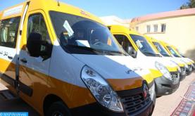 تنمية بشرية : توزيع 23 حافلة للنقل المدرسي على الجماعات الترابية بإقليم العرائش