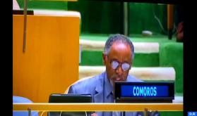 اتحاد جزر القمر يجدد دعمه لمغربية الصحراء ولمبادرة الحكم الذاتي