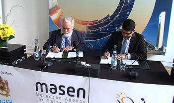 EU Donates 465 mln Dirhams to Fund Morocco's Noor III Solar Plant