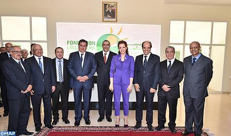 HRH Princess Lalla Salma inaugurates in Taroudant ...