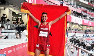 Olympic Games: Moroccan El Bakkali Wins Gold in Men's 3,000m Steeplechase