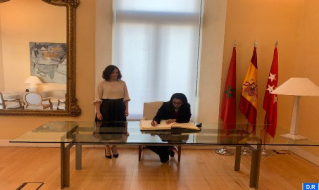 Morocco's Ambassador to Spain Meets with President of Madrid Region