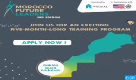 3rd Edition of 'Morocco Future Leaders' Program Launched in Dakhla-Oued Eddahab Region