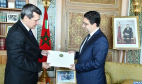 FM Receives his Turkmen Peer, Bearer of a Message from Turkmenistan Pres. to HM the King