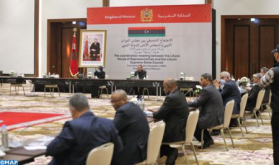 Coordination Meeting between Libyan House of Representatives, High Council of State Kicks Off in Tangier