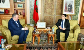 FM Holds Talks in Rabat with British Minister of State for International Trade