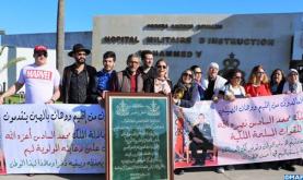 Coronavirus: Moroccan Evacuees Leave Mohammed V Military Hospital in Rabat