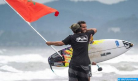 World Surfing Championship: Morocco's Ramzi Boukhiam Wins Hang Loose Contest in Brazil