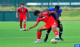 U-17 National Football Team in Preparation Training in Maamora