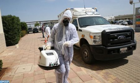 Covid-19/Fez: Disinfection Operations in Hassan II Hospital to Protect Medical Staff