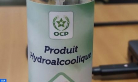 Jorf Lasfar: OCP Team Develops Hydroalcoholic Gel for Internal Use