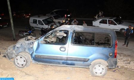 Fifteen Killed in Road Accidents in Morocco's Urban Areas Last Week