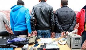 Salé: Four People Arrested, 8,700 Psychotropic Pills Seized