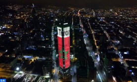 Colombia: Bogotá Lights Up in Colors of Morocco on Throne Day
