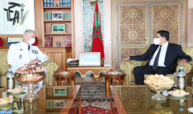 FM Receives in Rabat Chief of Staff of French Armies