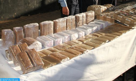 Truck Driver Arrested in Agadir in Possession of 589 kg of Cannabis Resin