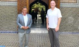 FIFA President Visits Dar El Bacha Museum in Marrakech
