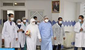Covid-19: Last Cured Patients Leave Moulay Abdellah Hospital in Salé