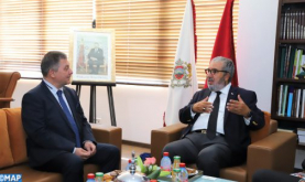 MAP Director General Holds Talks with Bulgaria's Ambassador to Morocco